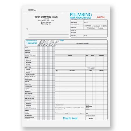 Plbcc-955, Plumbing Work Order Form