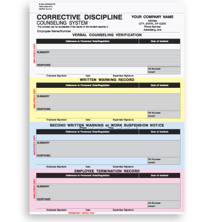 Progressive discipline template 28 images disciplinary for Progressive discipline template