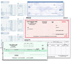 Business Checks, 3-to-a-Page Checks, One Write Checks, Voucher Checks