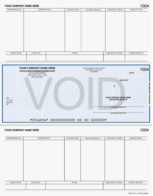 LM275, Laser/Inkjet Accounts Payable Check