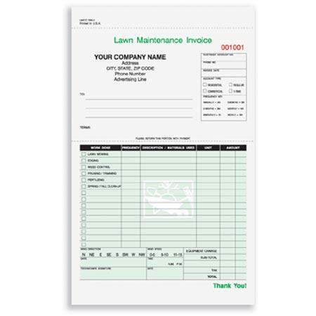 LMCC Lawn Maintenance Invoice - Lawn maintenance invoice