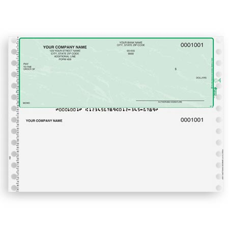 CT154, Continuous and Dot Matrix Multipurpose Check