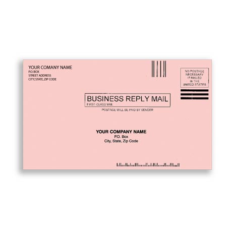 ENV-9817, #61/4 Envelopes - Pink